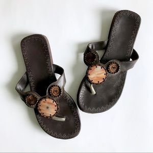 Shoes - Brown Boho Sandals